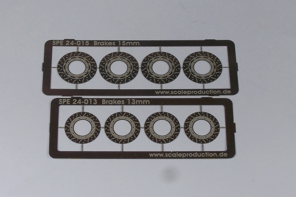 Disc brake set PGT3R (Fujimi)