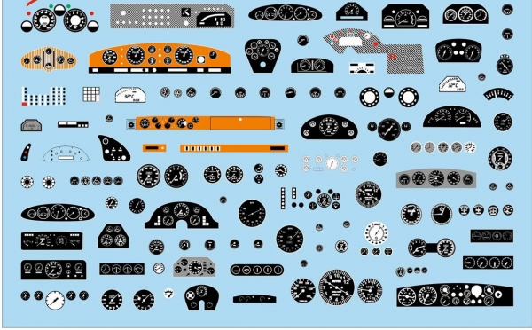 Decals Dash boards