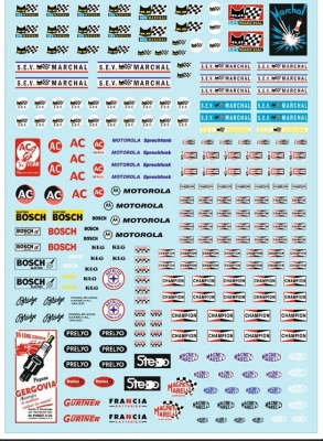 Decals Electrical Equipment