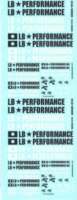 Decals LB Performance