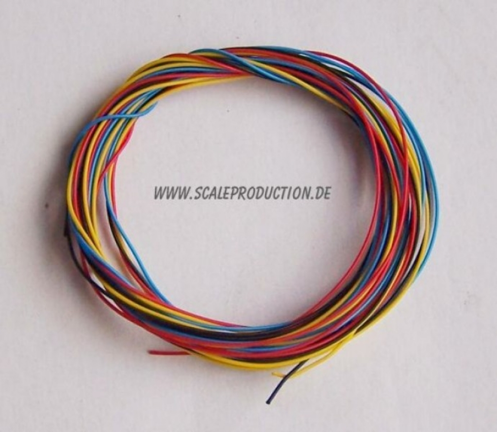 V8 distributor with ignition wire (1pc.)