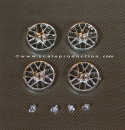 "wheel inserts 18"" BBS GT3RSR 19,1mm (chrome)"